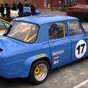 Lunette arrière Makrolon Renault 8 Gordini