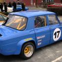 Vitre arrière latérale Makrolon Renault 8 Gordini