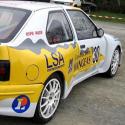 Vitre arrière latérale Makrolon Renault 19