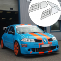 Kit Makrolon Renault Mégane 2 - 3mm