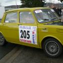 Vitre arrière latérale Makrolon Simca 1000 Rallye