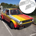 Kit Makrolon Volkswagen Golf 1 - F2000