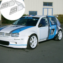 Kit Makrolon Volkswagen Golf 4 - F2000