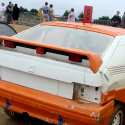 Lunette arrière Makrolon Citroën BX