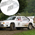 Kit Makrolon Citroën BX - 3mm