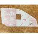 Vitre avant Makrolon Honda Civic EK4