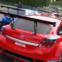 Lunette arrière Makrolon Opel Astra H