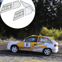 Kit Makrolon Opel Astra F - 3mm