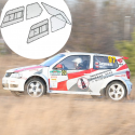 Kit Makrolon Volkswagen Polo 3 (6N) - F2000