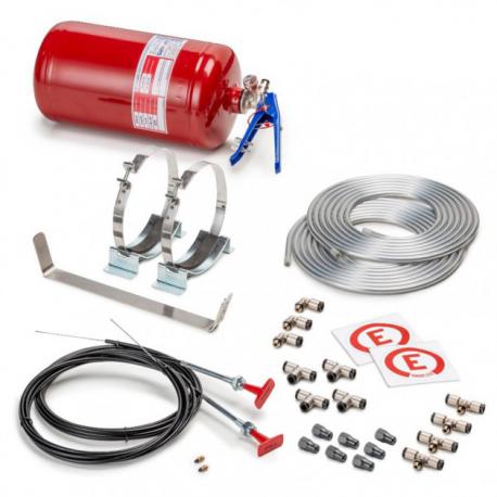 Kit Extincteur automatique SPARCO 4,25L Mécanique acier
