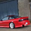Lunette arrière Makrolon Nissan S13