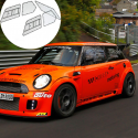 Kit Makrolon Mini Cooper R56 - 3mm