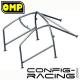 Arceau Standard FIA OMP Ford Escort mk2 6 Points