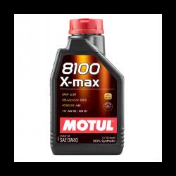 Huile Motul 8100 X-Max 0w40 - 1L