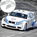 Kit Makrolon BMW E36 compact - 5mm