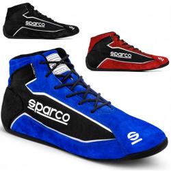 Bottines SPARCO Slalom+ Peau retournée/tissu - FIA