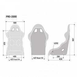 Baquet FIA SPARCO Pro 2000 QRT