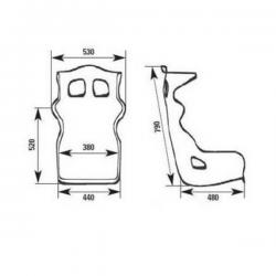 Baquet FIA OMP Prototipo