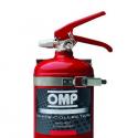 Extincteur OMP Manuel 2.4L - Alu - Rouge