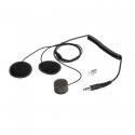 Micro + Ecouteurs SPARCO - pour casque int?gral pour radio IS-140 et IS-150