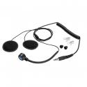 Micro + Ecouteurs SPARCO - pour casque jet pour radio IS-140 et IS-150