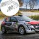 Kit Makrolon Peugeot 208 - 5mm