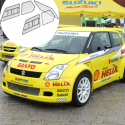 Kit Makrolon Suzuki Swift (2004-2011) - 3mm