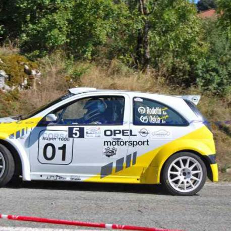 Custode arri?re Makrolon Opel Corsa C