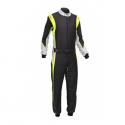 Combinaison Marina FIA GAS noir/jaune
