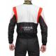 Combinaison Marina FIA GAS gris/noir/rouge