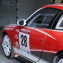 Vitre avant Makrolon Porsche 996 Cup