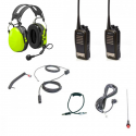 Kit radio HYT Race 600 | Complet | Casques Stilo