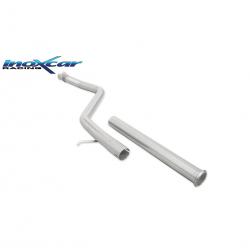 Tube Intermédiaire inox INOXCAR Peugeot 306 S16 - sans silencieux