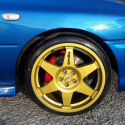"Jante Speedline Turini Type 2013C Subaru Impreza 8x18"""