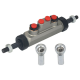 Ma?tre cylindre Double Circuit 0.75 Diam. 19 mm
