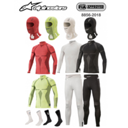 PACKS Sous-vêtements Alpinestar FIA ZX Evo V2