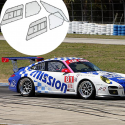 Kit Makrolon Porsche 997 Cup - 3mm