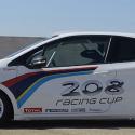Vitre avant Makrolon Peugeot 208 Cup