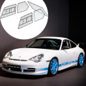 Kit Makrolon Porsche 996 - 3mm