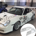 Kit Makrolon Porsche 996 Cup - 3mm