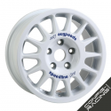 "Jante Speedline Type 2118 Ford Escort Groupe A 6x15"" ET25 - Blanc"