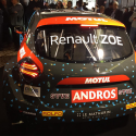 Lunette arri?re Makrolon Renault Zo?