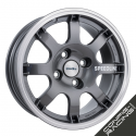 "Jante Speedline SL434 PTS 15"" - Anthracite"