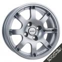 "Jante Speedline SL434 PTS 15"" - Gris silver"