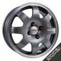 "Jante Speedline SL675 Renault Clio Groupe A 15"" - Anthracite bord poli"