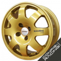 "Jante Speedline SL676 Renault Clio Groupe A 16"" - Or"