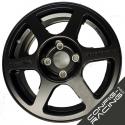 "Jante Speedline Type 2111 Citroen Saxo challenge Peugeot 106 14"" - Noir"