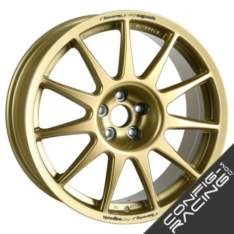 "Jante Speedline Turini Type 2120 Ford Fiesta R5 8x18"" - Or"