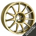 "Jante Speedline Turini Type 2120 Ford Fiesta R5 8x18"" - Or"