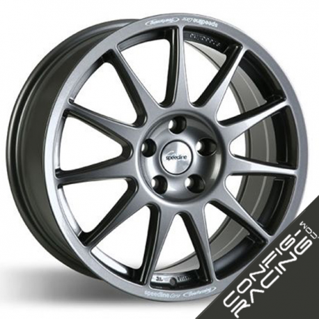 "Jante Speedline Turini Type 2120 Ford Fiesta R5 8x18"" - Noir"